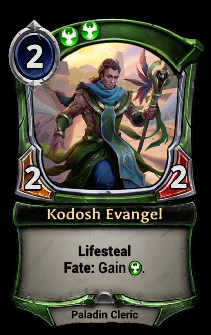 Card image for Kodosh Evangel