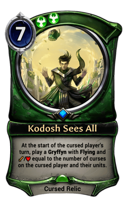 Card image for Kodosh Sees All