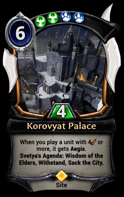 Card image for Korovyat Palace