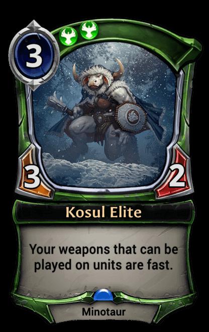 Card image for Kosul Elite