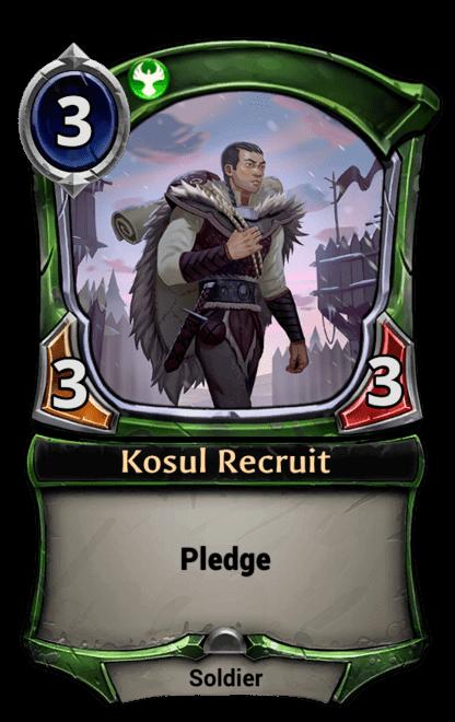 Card image for Kosul Recruit