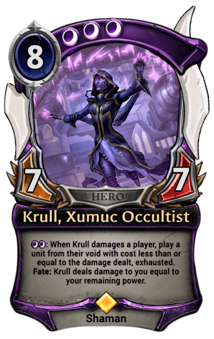 Card image for Krull, Xumuc Occultist