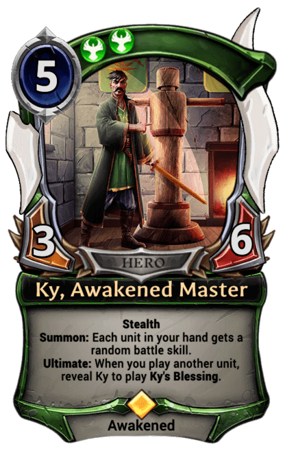 Card image for Ky, Awakened Master
