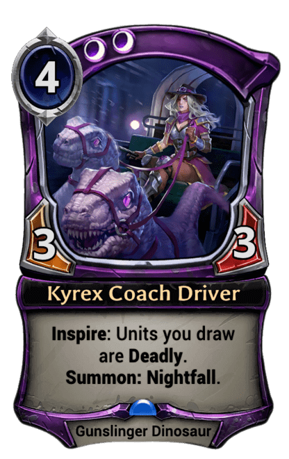 Card image for Kyrex Coach Driver
