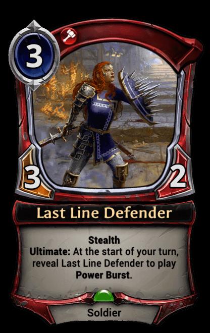 Card image for Last Line Defender
