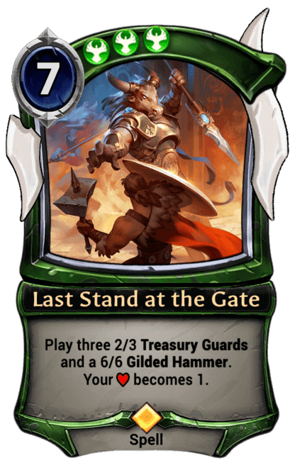 Card image for Last Stand at the Gate