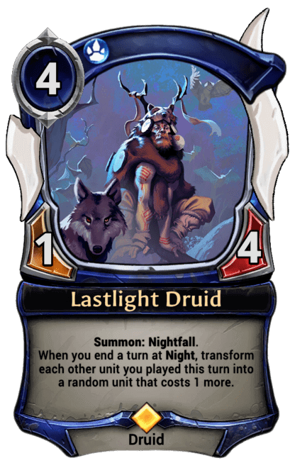 Card image for Lastlight Druid