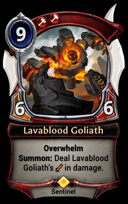 Card image for Lavablood Goliath