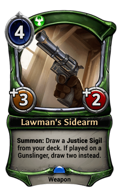 Card image for Lawman's Sidearm