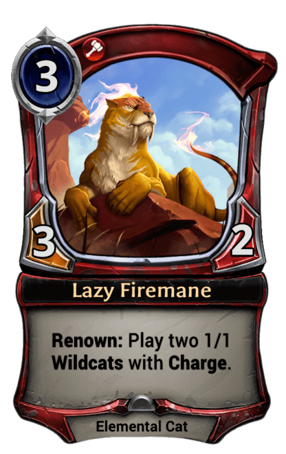 Card image for Lazy Firemane