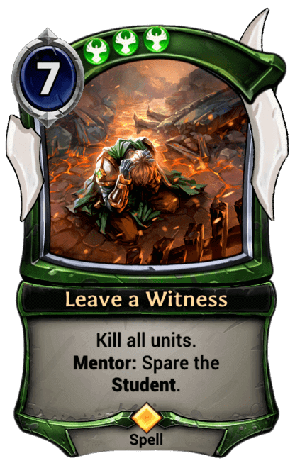 Card image for Leave a Witness