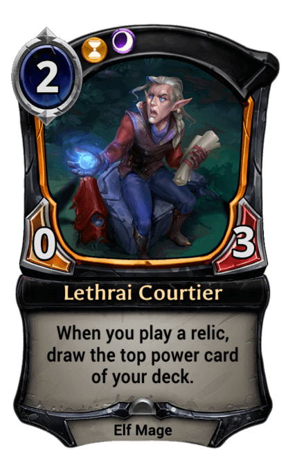Card image for Lethrai Courtier