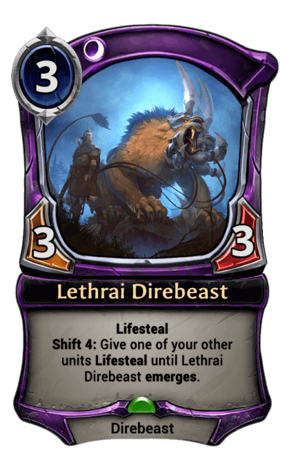 Card image for Lethrai Direbeast