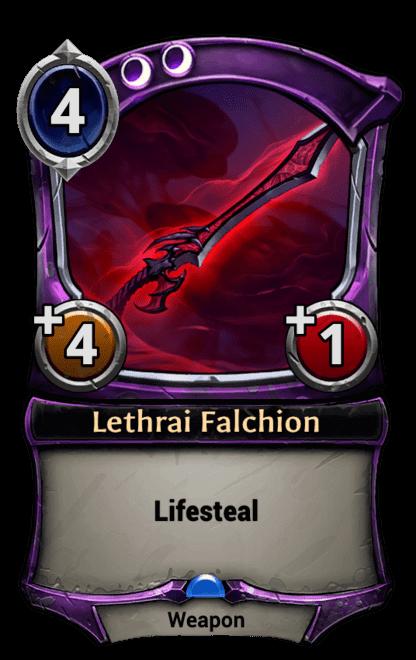 Card image for Lethrai Falchion