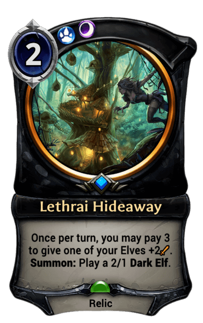 Card image for Lethrai Hideaway