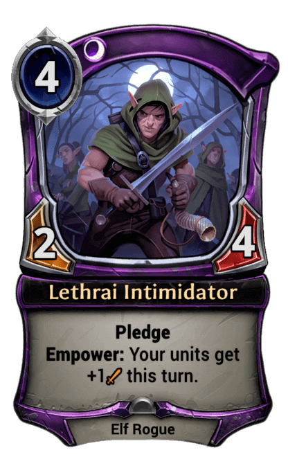 Card image for Lethrai Intimidator