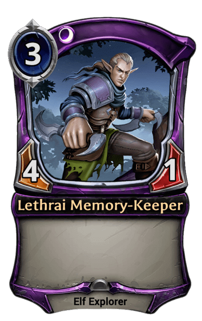 Card image for Lethrai Memory-Keeper