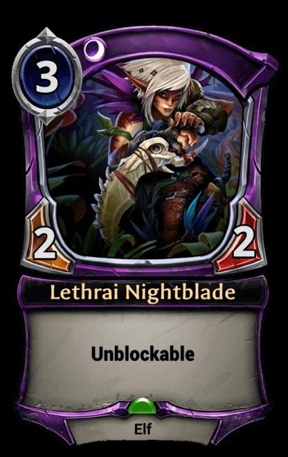 Card image for Lethrai Nightblade