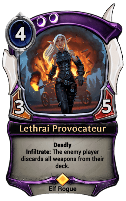 Card image for Lethrai Provocateur