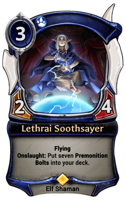 Card image for Lethrai Soothsayer