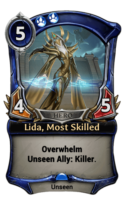 Card image for Lida, Most Skilled