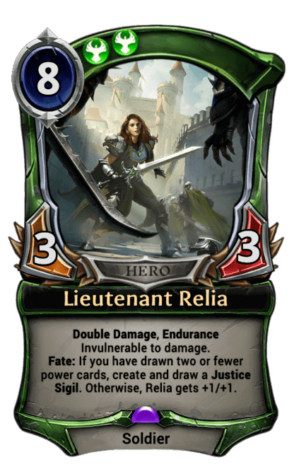 Card image for Lieutenant Relia