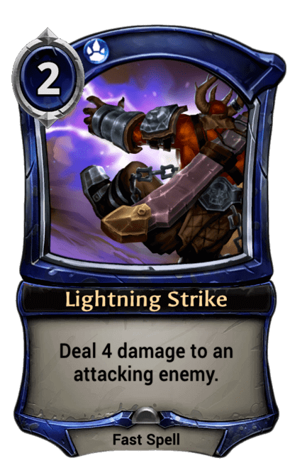 Card image for Lightning Strike