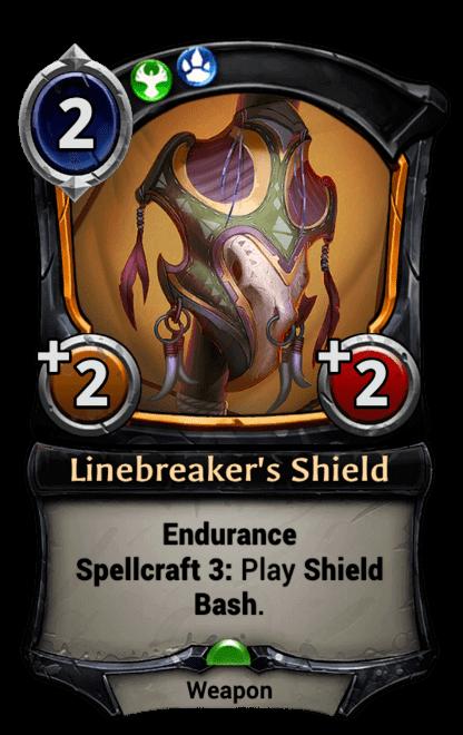 Card image for Linebreaker's Shield