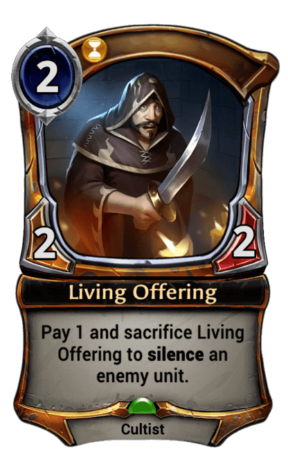 Card image for Living Offering