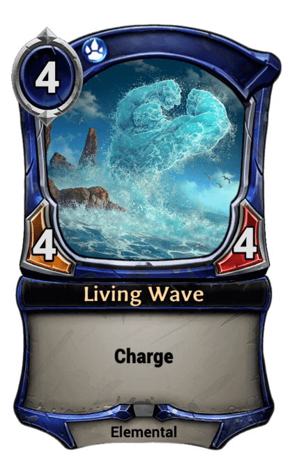 Card image for Living Wave