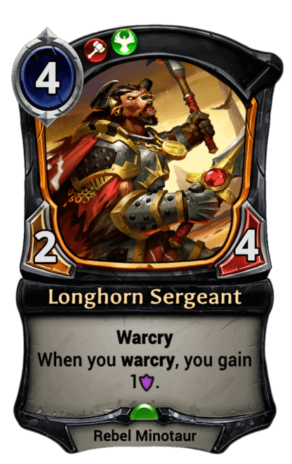 Card image for Longhorn Sergeant