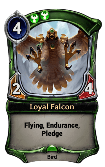 Card image for Loyal Falcon
