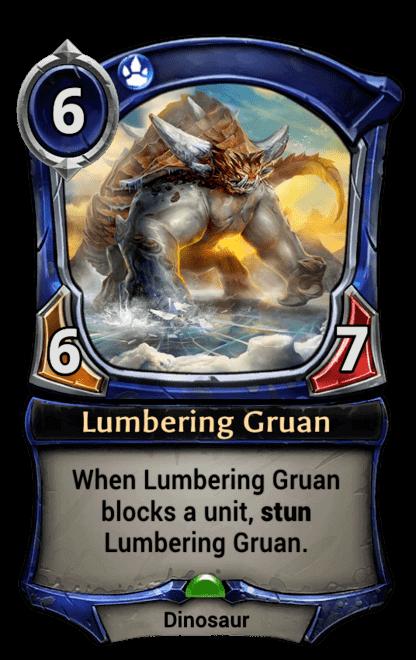 Card image for Lumbering Gruan
