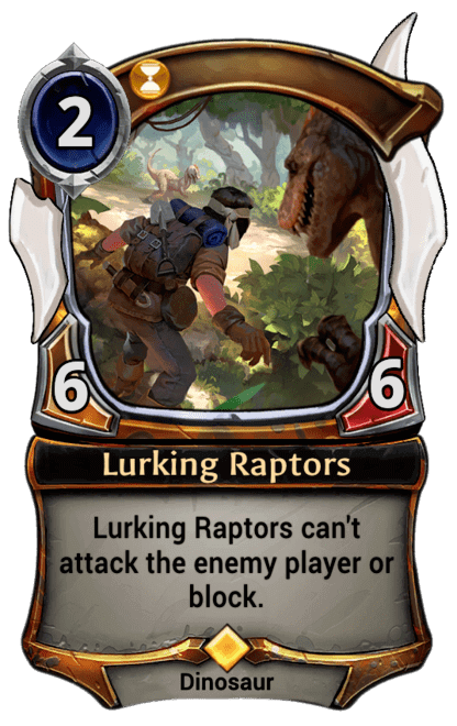 Card image for Lurking Raptors