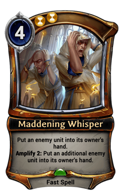 Card image for Maddening Whisper