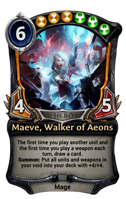 Card image for Maeve, Walker of Aeons