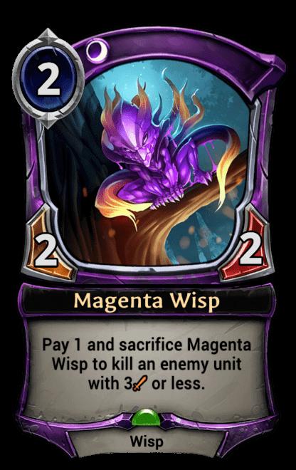 Card image for Magenta Wisp