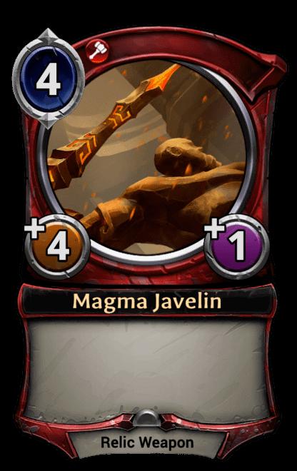 Card image for Magma Javelin