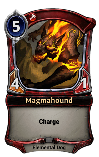 Card image for Magmahound