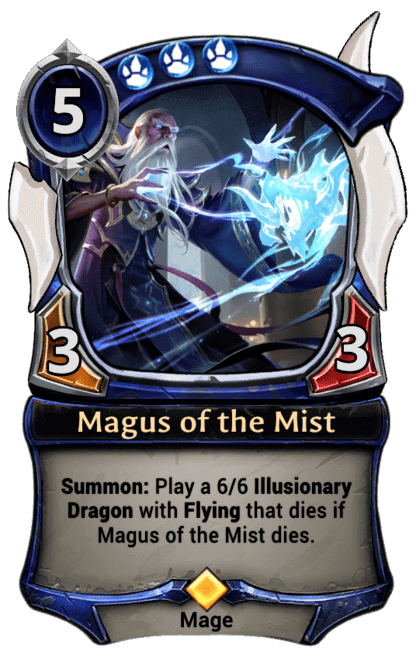 Card image for Magus of the Mist