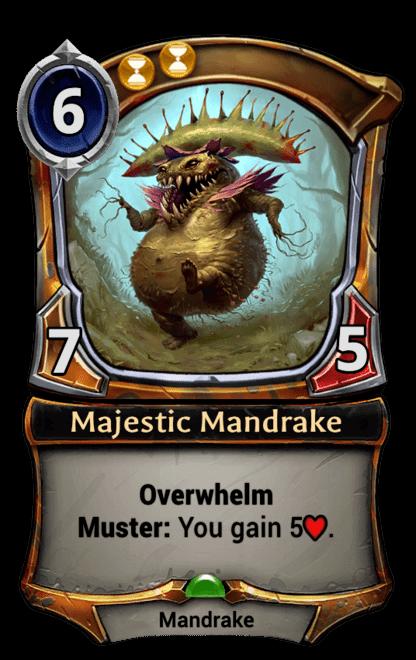 Card image for Majestic Mandrake