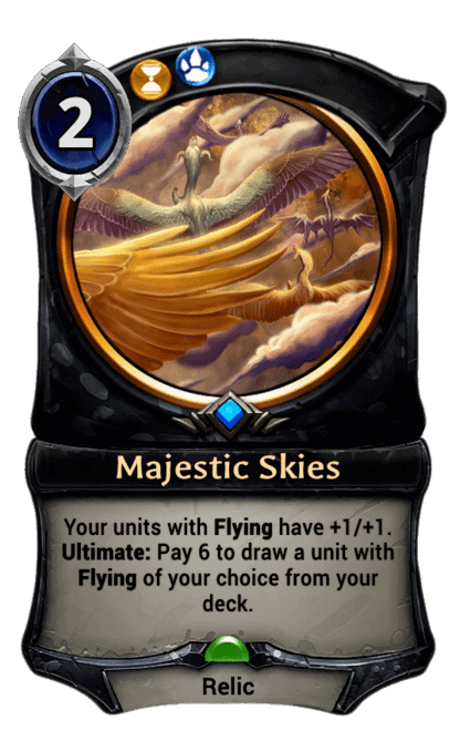 Card image for Majestic Skies
