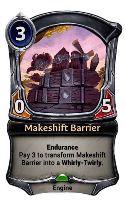 Card image for Makeshift Barrier
