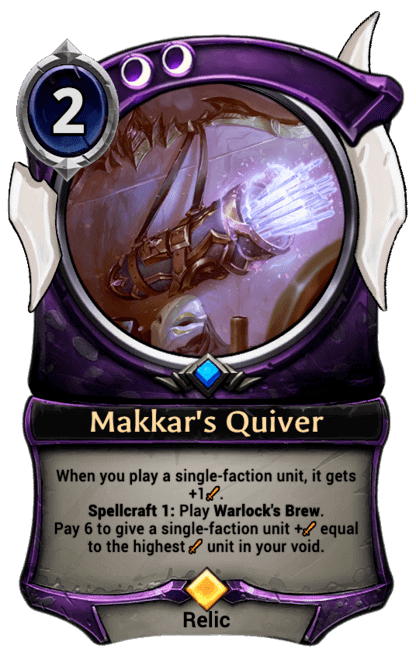 Card image for Makkar's Quiver
