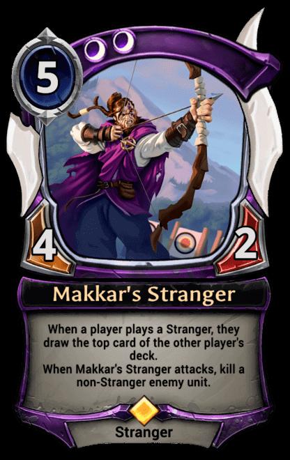 Card image for Makkar's Stranger