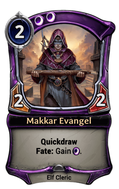 Card image for Makkar Evangel