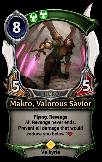 Card image for Makto, Valorous Savior