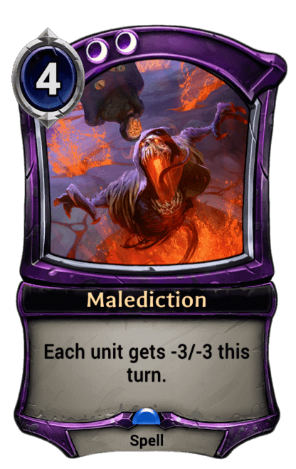 Card image for Malediction