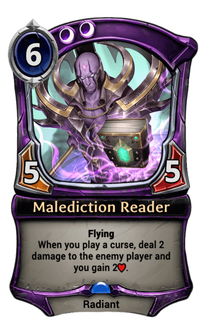 Card image for Malediction Reader