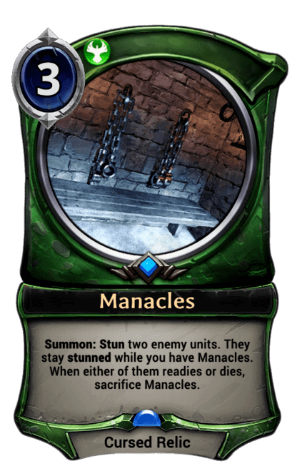 Card image for Manacles